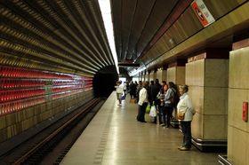 La station Staroměstská, photo: Ralf Roletschek, GNU Free Documentation License