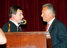 David Rath (vlevo) sMiroslavem Mackem, foto: ČTK