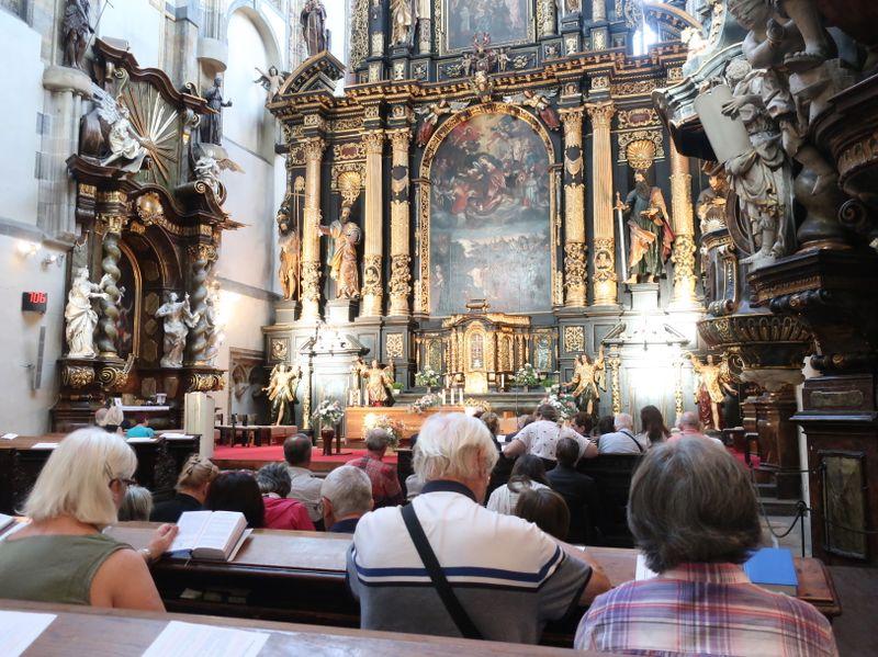 La iglesia de Nuestra Señora de las Nieves en Praga, foto: Zdeňka Kuchyňová