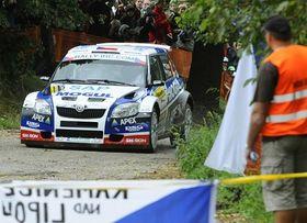 Barum Czech Rally Zlín, photo: CTK