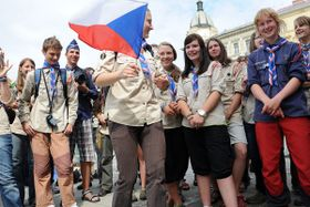 Czech Scouts, photo: Filip Jandourek / Czech Radio
