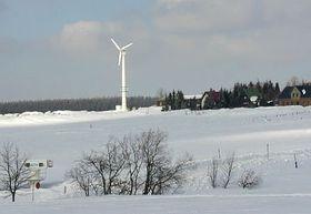 Větrná elektrárna na Božím daru