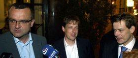 Мирослав Калоусек, Станислав Гросс и Павел Немец (Фото: ЧТК)
