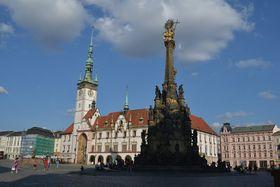 Columna de la Santísima Trinidad de Olomouc, foto: Hannah Illingová