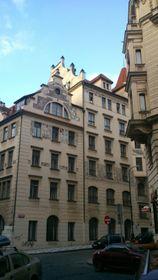 Студенческое общежитие Главки в Праге, фото: Ludek, limojoe, CC BY-SA 3.0
