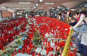 Commemorating victims of the Madrid bomb blasts, photo: CTK