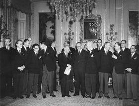 El gobierno checoslovaco exiliado en Londres