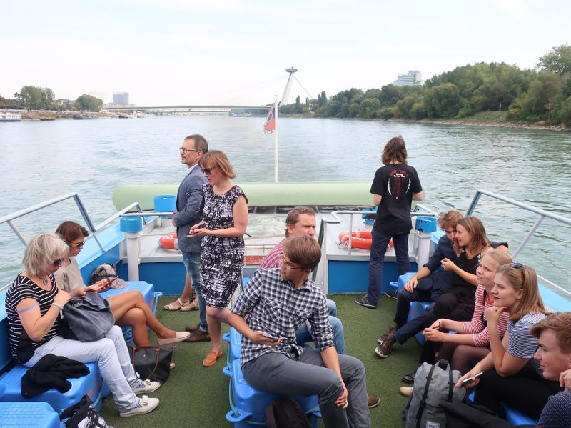 In Bratislava wartete auf die Teilnehmer ein buntes Programm (Foto: Markéta Kachlíková)