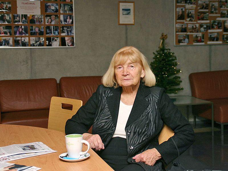 Eva Kantůrková, photo: Petra Čechová, ČRo