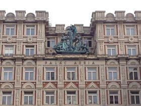 Palais Adria réalisé par Pavel Janák, photo: Oleg Fetisov