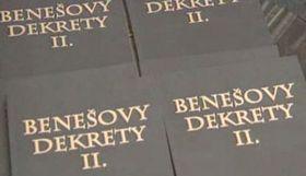 Beneš-Dekrete (Foto: ČT24)